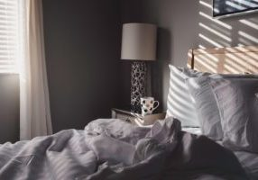 A cosy bed provides important benefits of sleep for seniors